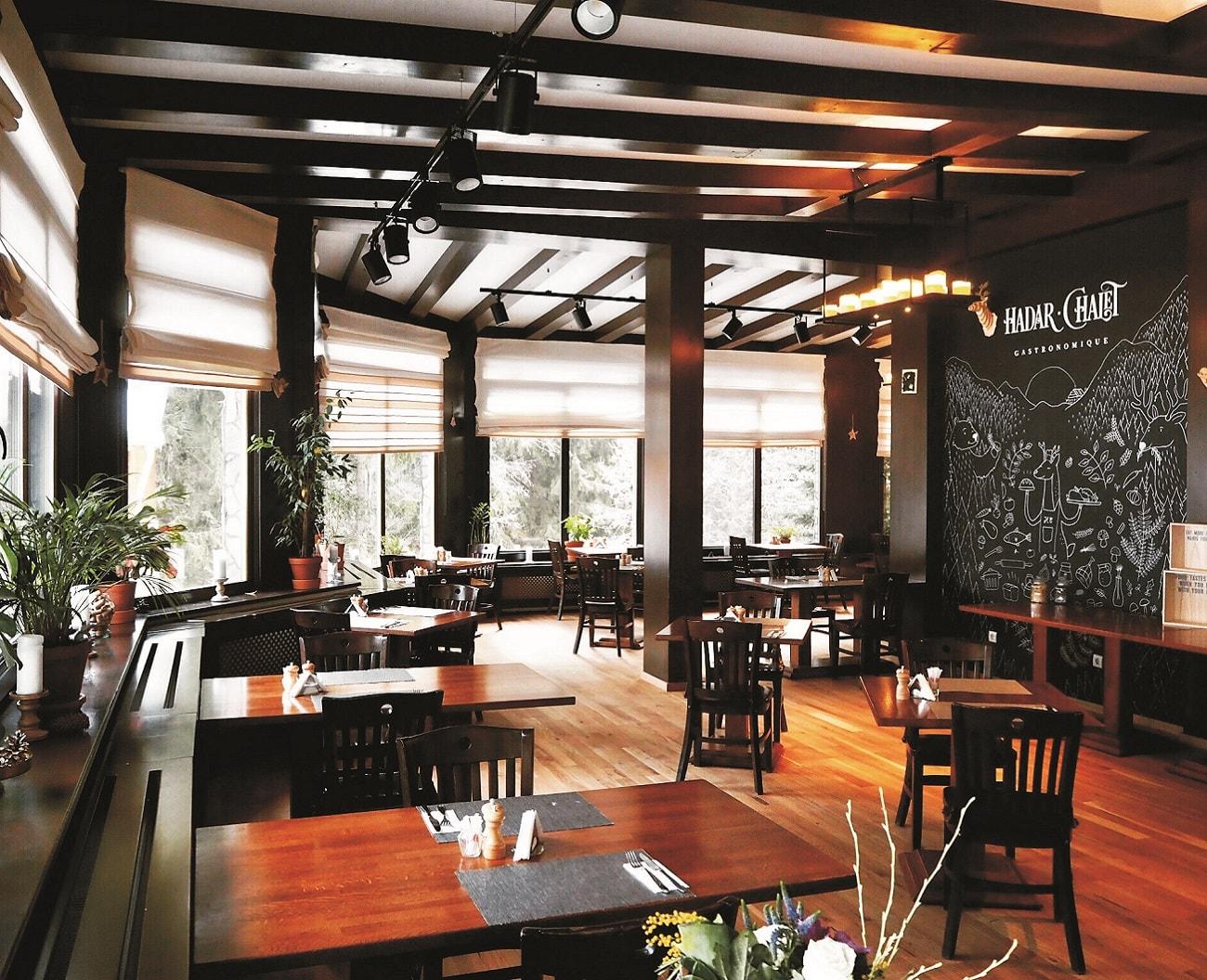 Hadar Chalet restaurant