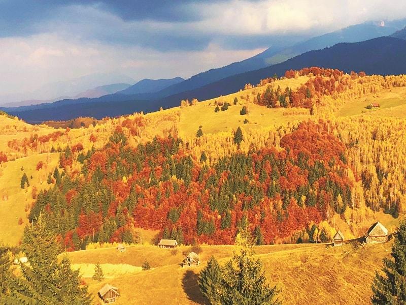 Amfiteatrul Transilvania autumn view