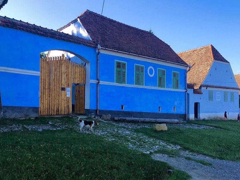 Viscri 32 village