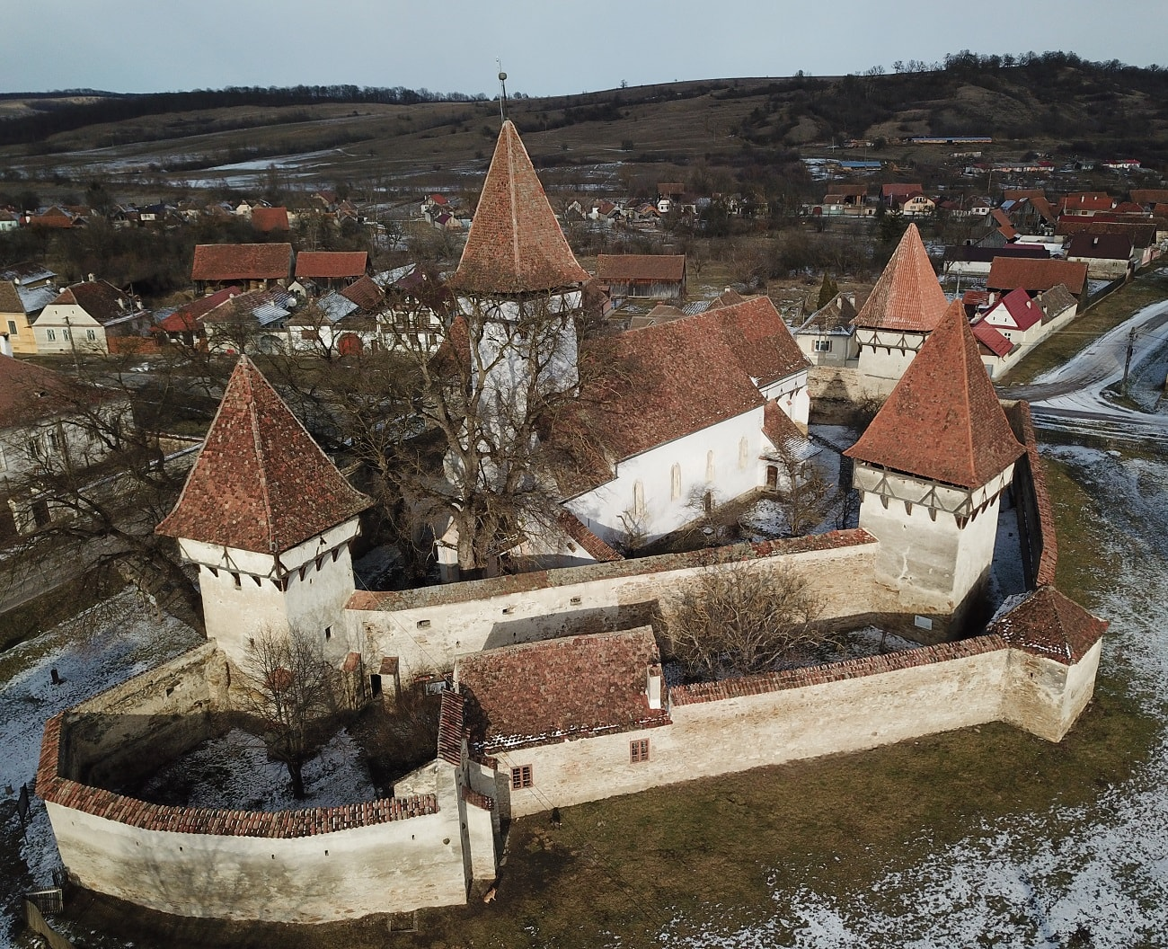 Cincsor biserica fortificata