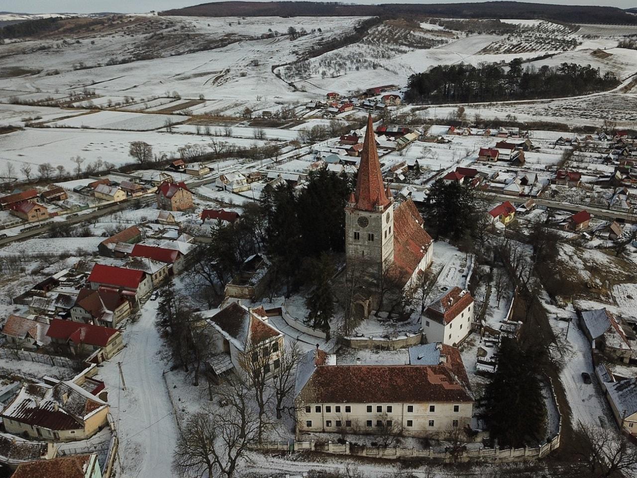 Cincu Biserica Fortificata